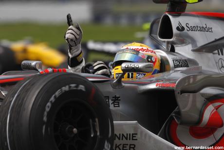 Formule 1 2008, le feu passe au vert