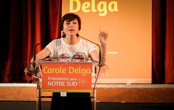 POLITIQUE – Carole Delga officiellement Présidente de la nouvelle région