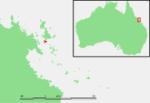 Ile Hamilton au large de l'Australie