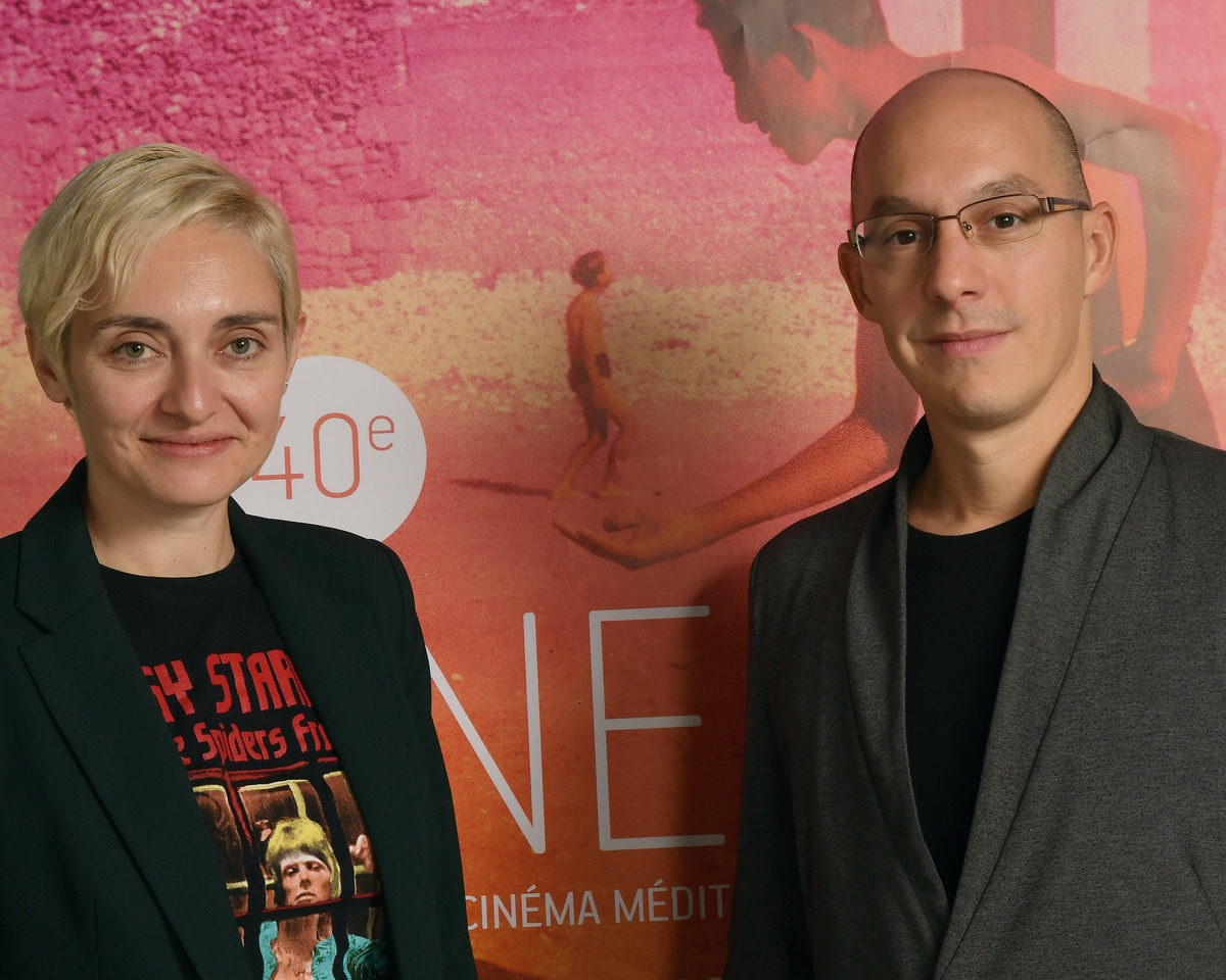 VIDEO CINEMED #8 Haut Courant à la rencontre de Guillaume Giovanetti et Çagla Zencirci