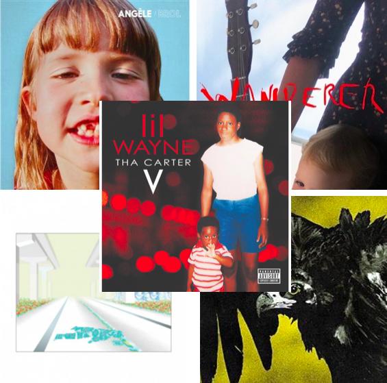 Pop, rap acerbe et remix hip-hop — Top 5 des albums à absolument écouter cette semaine