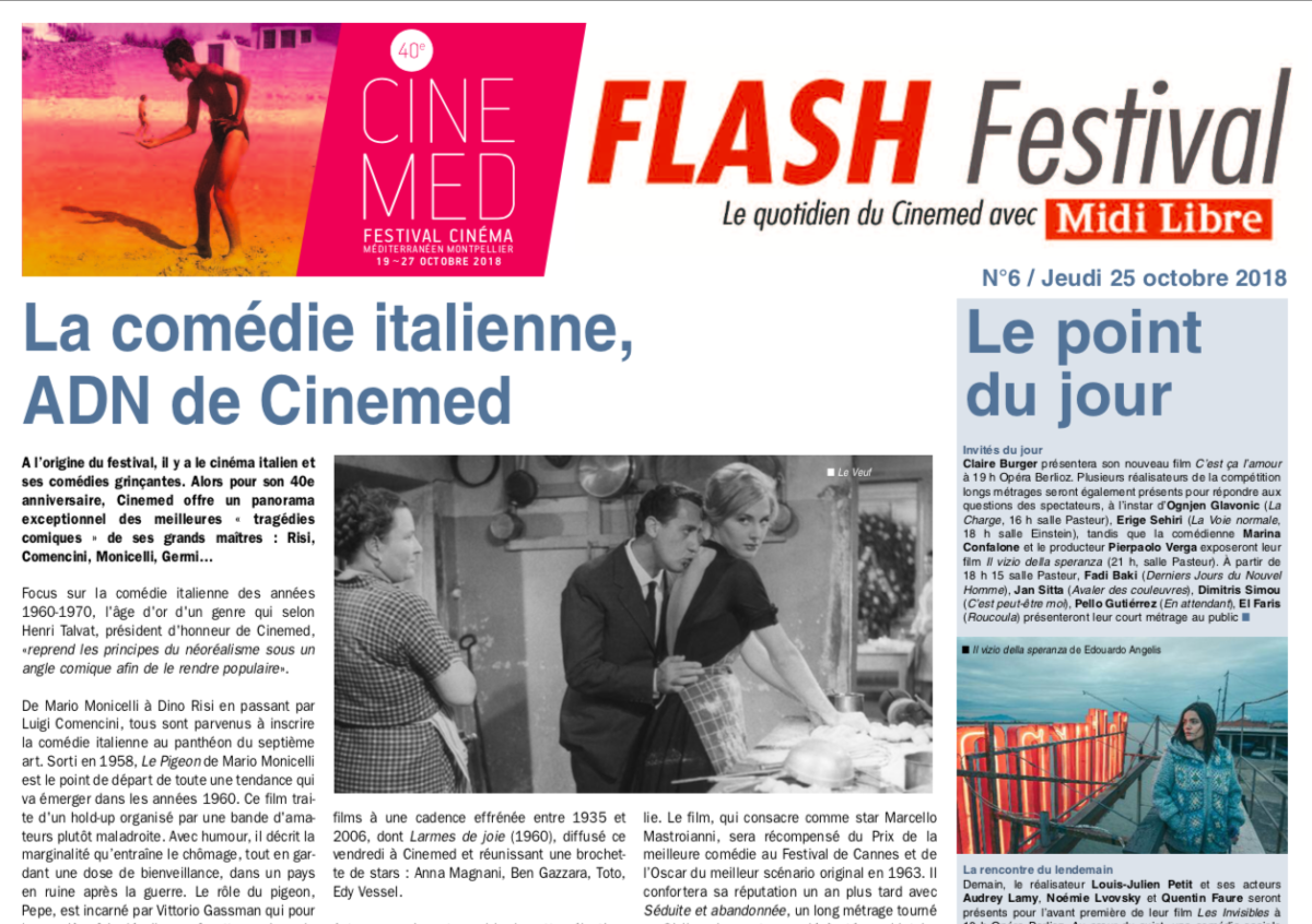Flash Festival #6 – Jeudi 25 octobre 2018