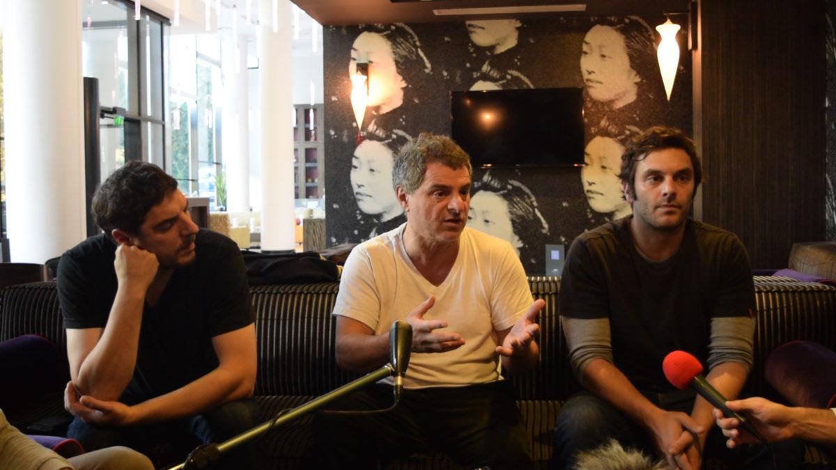 VIDÉO CINEMED #5 : Haut Courant à la rencontre de Pierre Salvadori, Pio Marmaï et Damien Bonnard