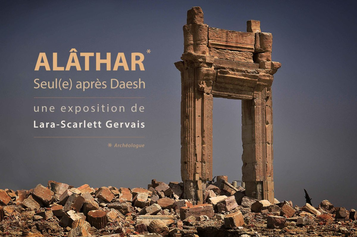 Alâthar, Seul(e) contre Daesh : la photo s'invite au Festival International du Film Politique