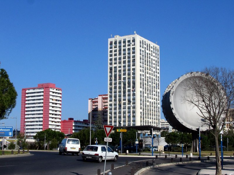 Quartier La Paillade de Montpellier