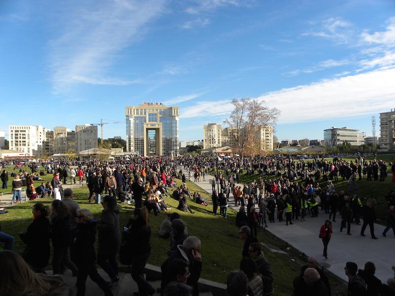 PORTFOLIO – Le rassemblement républicain à Montpellier en images