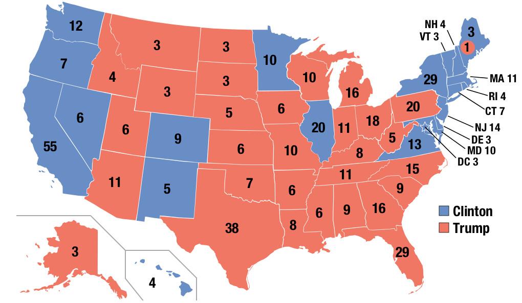 «Merde, il va vraiment gagner! »: un américain raconte sa soirée électorale