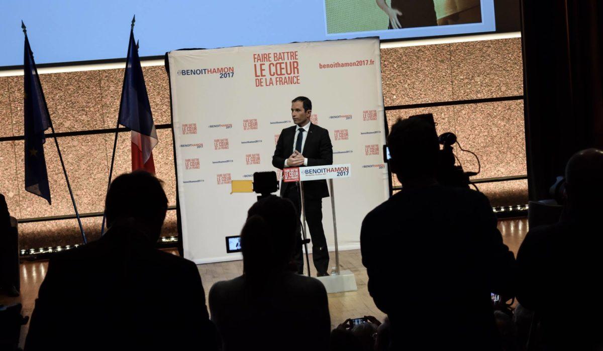 À Montpellier, Hamon veut faire battre un cœur «forcément à gauche»