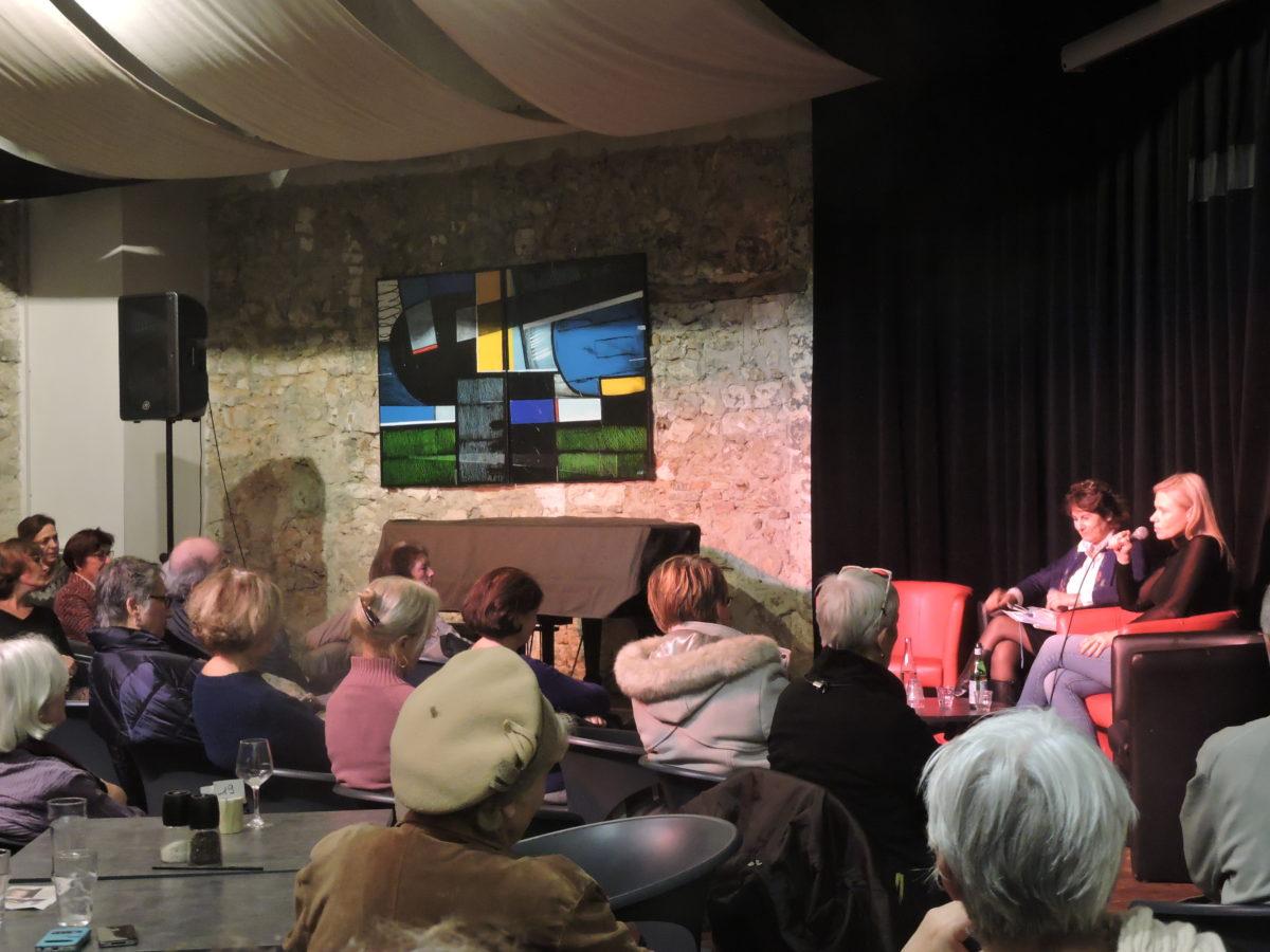 À Montpellier, Aude Lancelin présente son « Monde Libre »