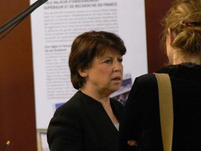 L'ancienne ministre de Jospin et actuelle maire de Lille postulera-t-elle au poste de premier secrétaire du PS?