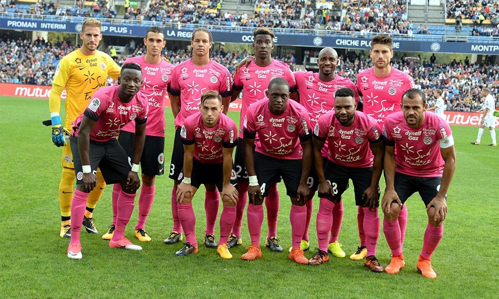 Les joueurs du MHSC ont joué en rose en soutien à l'opération Octobre Rose qui lutte contre le cancer du sein.