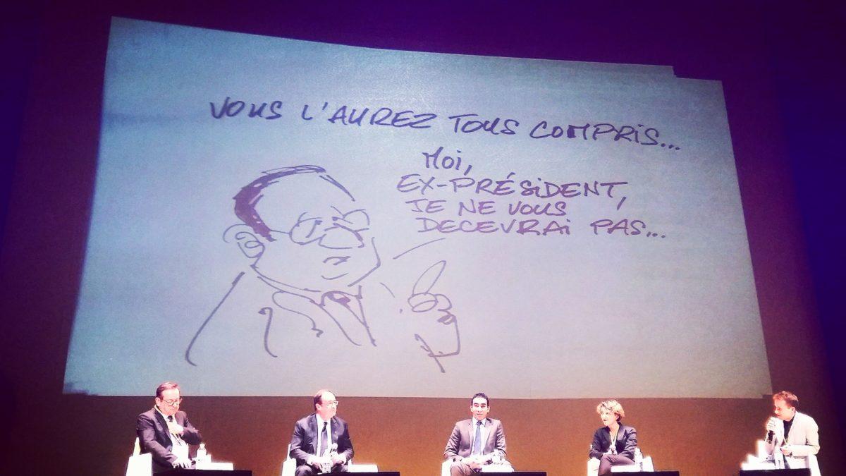 François Hollande : «Je m'échauffe pour être prêt à reprendre la compétition»