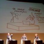 """""""On a inversé la courbe du chômage !"""" s'est défendu François Hollande en plaisantant."""