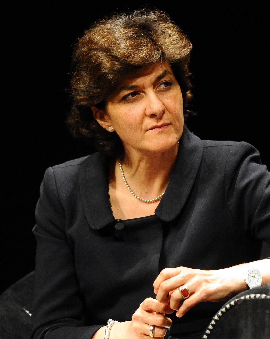 Sylvie Goulard, spécialiste de l'Europe, confiante sur le futur de l'Allemagne