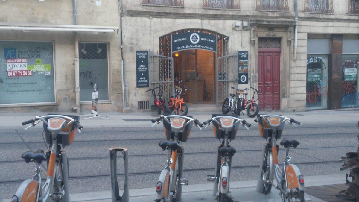 Les Vélomagg' face à leurs concurrents.