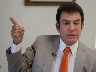 Salvador Nasralla, principal opposant de Juan Orlando Herndez.