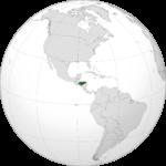 Honduras, situé en plein cœur du continent américain.