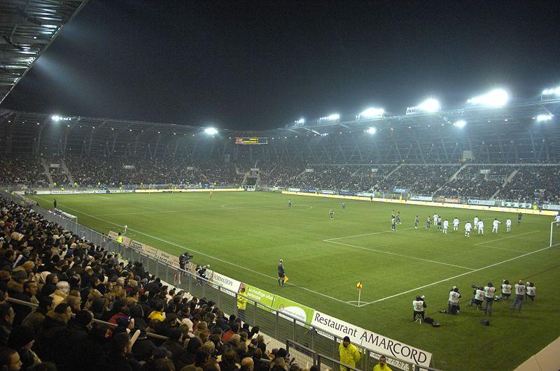 Premier match au Stade des Alpes le 15 février: victoire du GF 38 2 à 0 face aux auvergnats du Clermont Foot