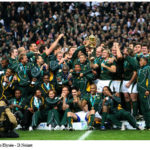 Les Springboks remportent leur seconde Coupe du Monde à Paris en octobre 2007