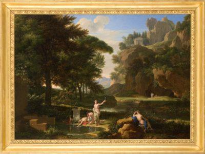 La mort de Narcisse, paysage historique, François-Xavier Fabre, Montpellier, Musée Fabre © musée Fabre, Montpellier Agglomération – cliché Frédéric Jaulmes,