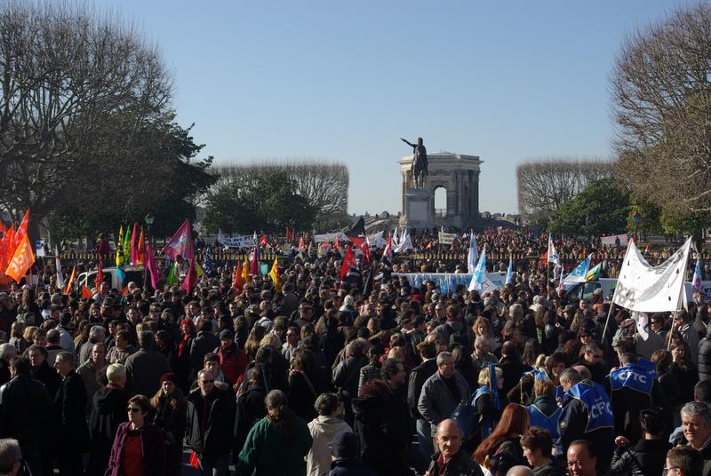 Montpellier se mobilise largement pour défier Sarkozy