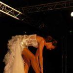 Défilé, la mariée danseuse, robe de Ghis création