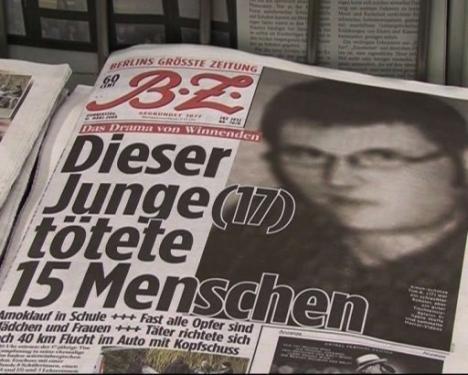 Tim Kretschmer à tué 15 personnes avant de se donner la mort