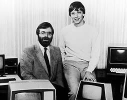 Paul Allen et Bill Gates, cofondateurs de Microsoft