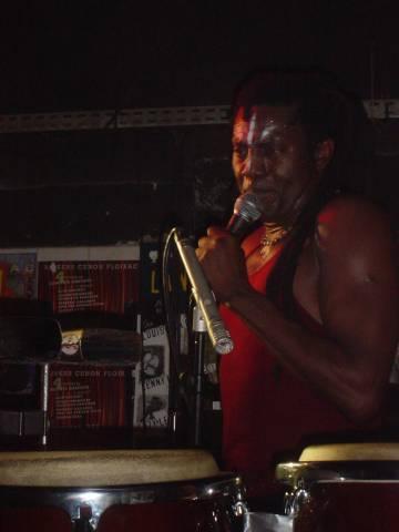 Amayo, le chanteur d'Antibalas