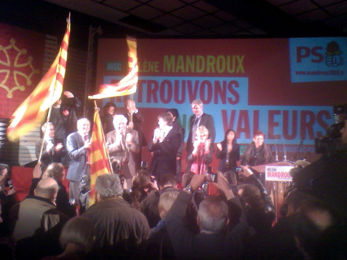 Mandroux, «maire courage» selon Montebourg