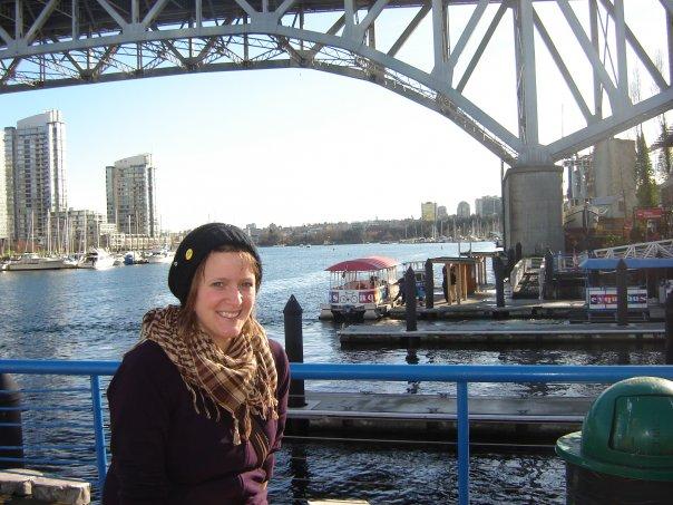 Annick, une étudiante québécoise représente la francophonie à Vancouver
