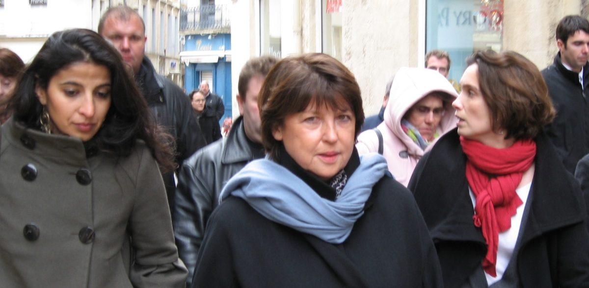 Pour la Journée de la femme, Martine Aubry vient au secours de son « amie » Hélène Mandroux