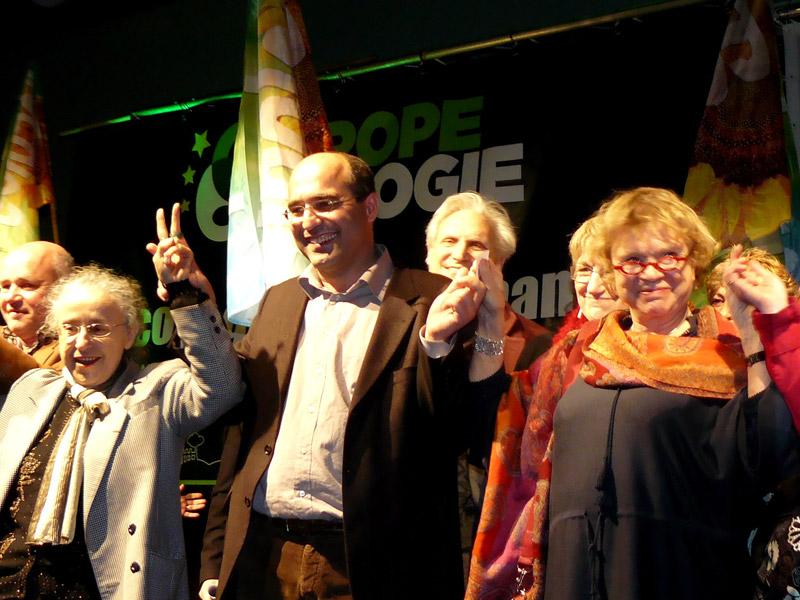 Une semaine avec Europe Ecologie