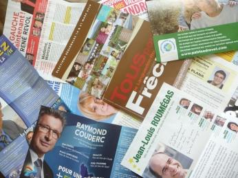 Elections Régionales : les tracts en revue
