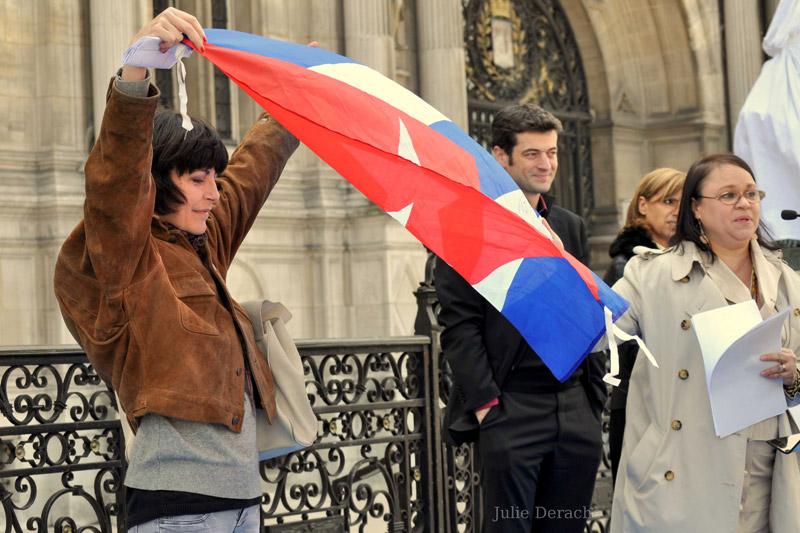 Pour Cuba, les Dames en blanc en appellent à la liberté