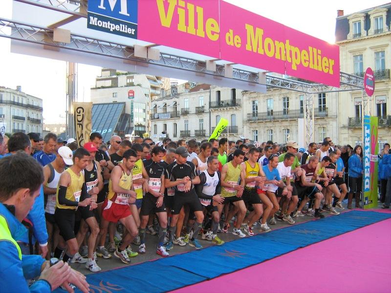Retour gagnant du marathon de Montpellier