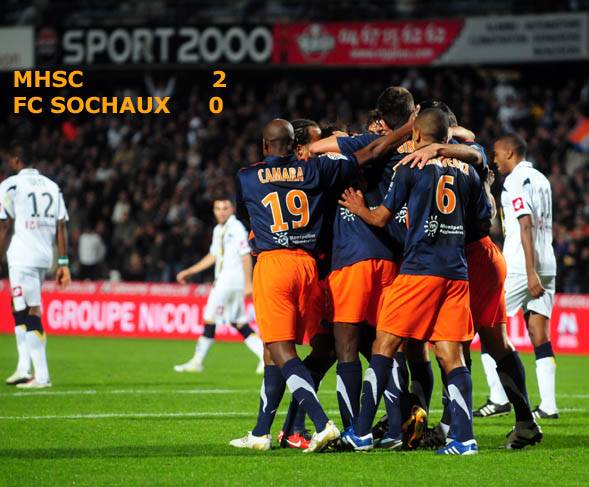 Montpellier respire, Rennes toujours leader