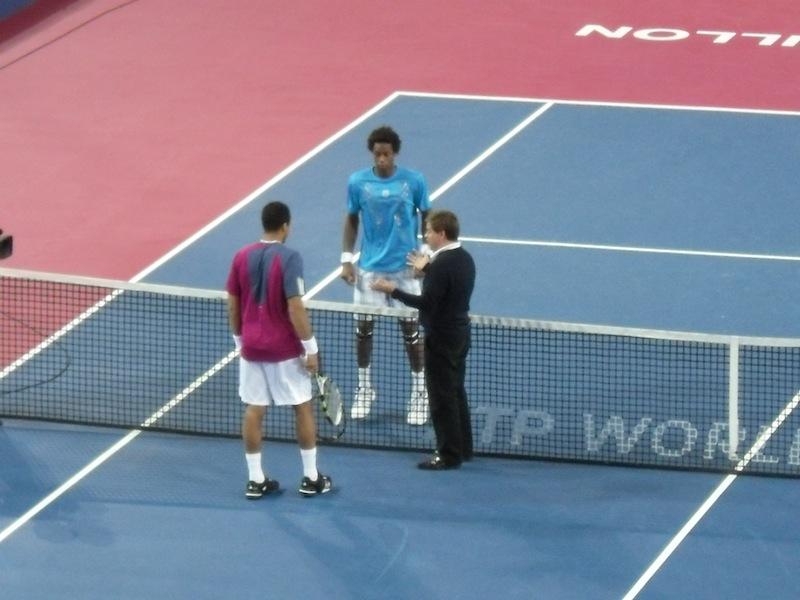 Open Sud de France, 1/2 finale : Gael Monfils mate Jo-Wilfried Tsonga