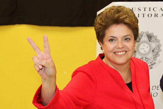 Dilma Rousseff, première femme présidente du Brésil