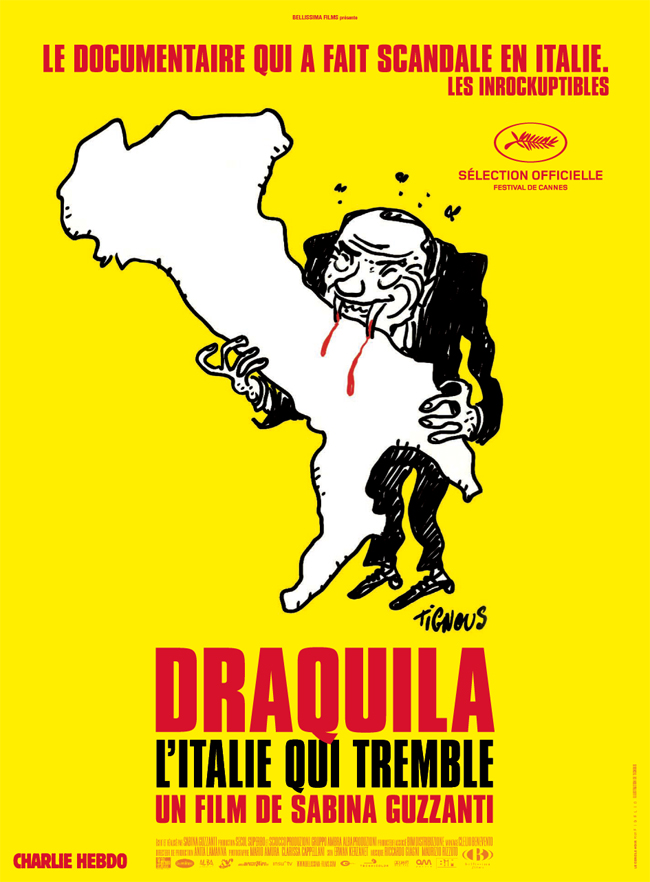 « Draquila » un documentaire anti-berlusconi