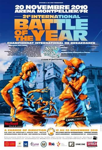 Battle Of The Year : le breakdance fait son show à Montpellier