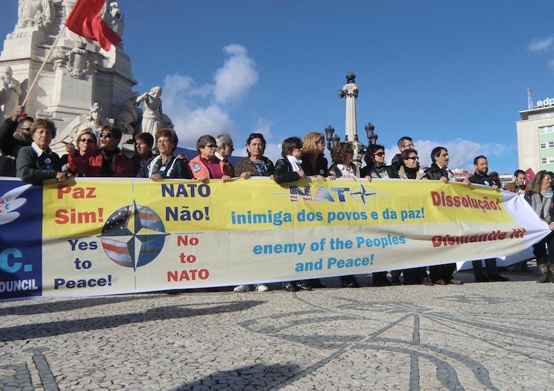 Sommet de l'OTAN à Lisbonne :Le Mouvement de la paix renforce son opposition