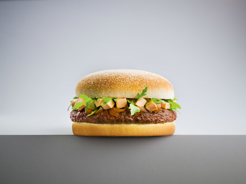 Les hamburgers aussi fêtent Noël