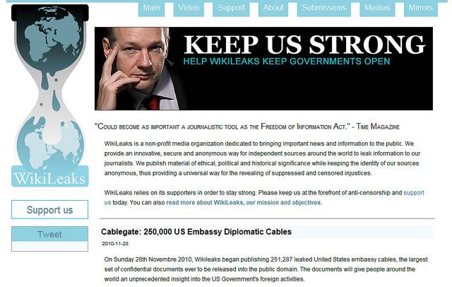 WikiLeaks : « Le 11 septembre de la diplomatie mondiale »