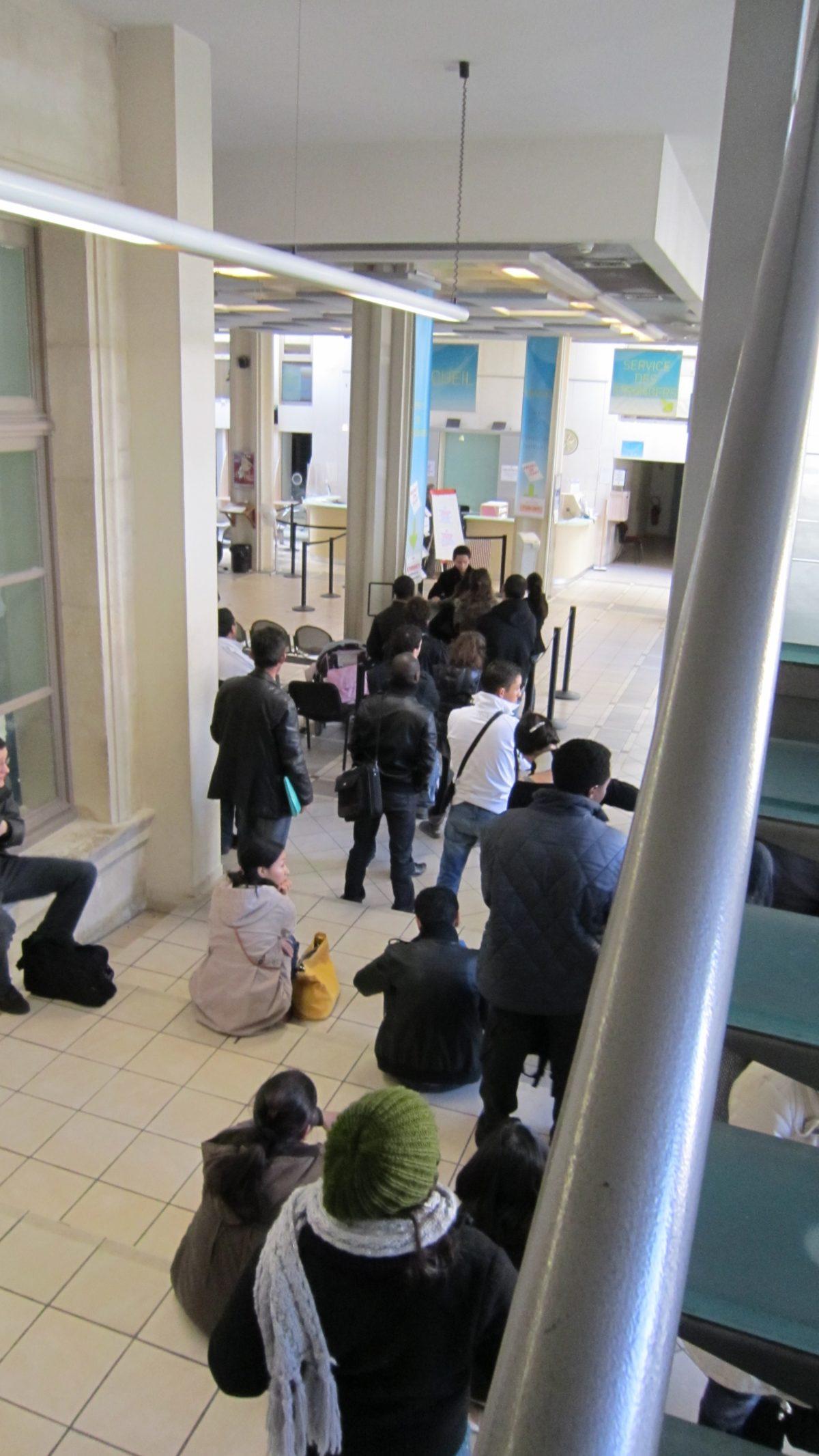 Le long chemin des étrangers vers la France