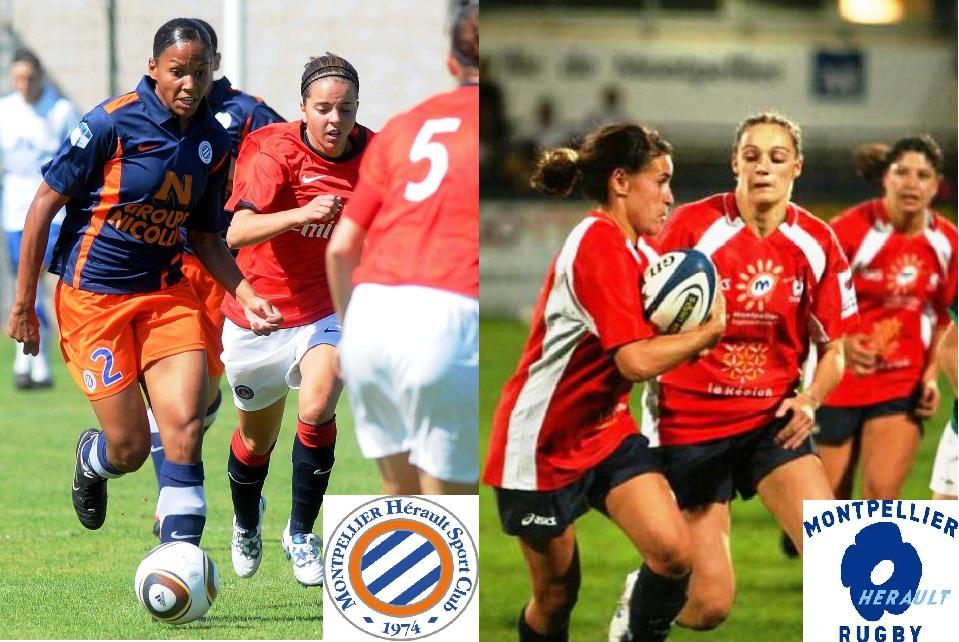 À Montpellier, les filles portent les crampons !