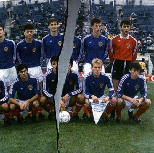 On l'appelait l'équipe de Yougoslavie