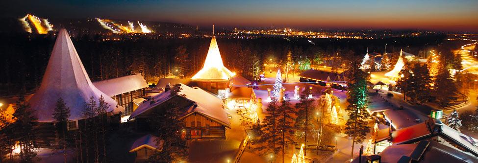 Rovaniemi : du tourisme au pays du Père Noël
