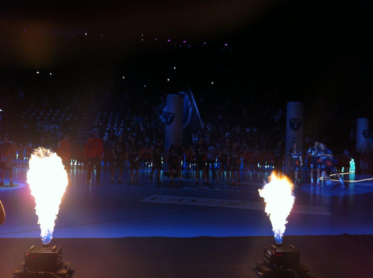 A l'Arena, le handball devient show