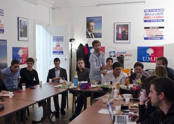 Le débat Fillon / Copé vu par les jeunes militants de Montpellier